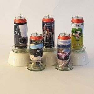Voorbeelden van eigen ontwerp kaarsen