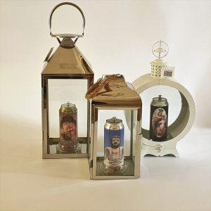 Herdenking kaarsen (in lantaarn)